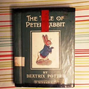 Antique The Tale of Peter Rabbit Book
